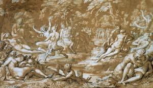 Oliver Nymphs and Satyrs 1610