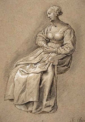 Oliver Seated Woman