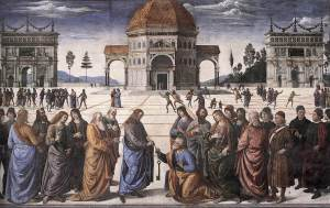 Perugino_Christs_Charge_to_Peter_1481