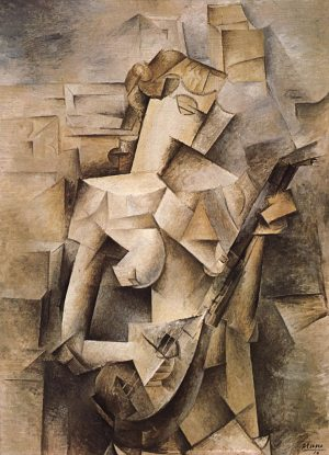 Picasso_Woman_with_Mandolin_1910
