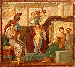Pompeii_House_of_Marcus_Lucretius_Fronto_Wedding_Mars_Venus