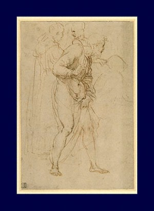 Raphael_Study_for_Disputa_2