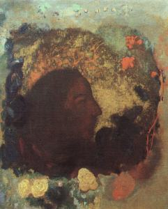 Redon_Portrait_of_Paul_Gaugin
