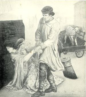 Rossetti Found drawing