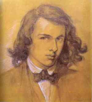 Rossetti Self-portrait 1847