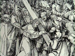 Schaufelein_Christ_bearing_the_cross_1480-1539_woodcut