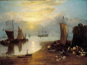 turner_sun_rising_through_vapour_fishermen_cleaning_and_selling_fish_1807