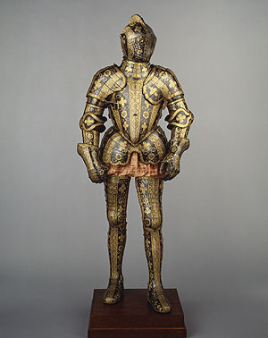 Unknown Armour for 3rd Earl of Cumberland c1580-85