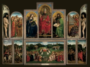 Van_Eyck_The_Ghent_Altarpiece_1432