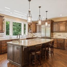 Shaffer Inc. Contemporary Timber Custom Home 15