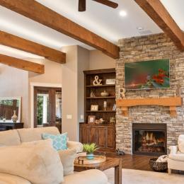 Shaffer Inc. Contemporary Timber Custom Home 16
