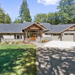 Shaffer Inc. Contemporary Timber Custom Home 5