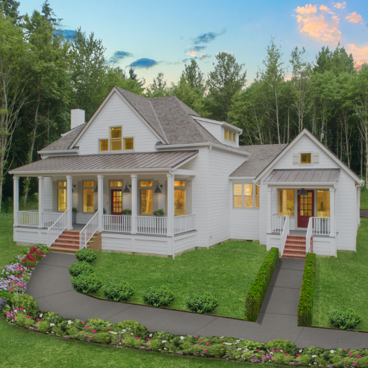 Shaffer Inc. Modern Country Custom Home 11