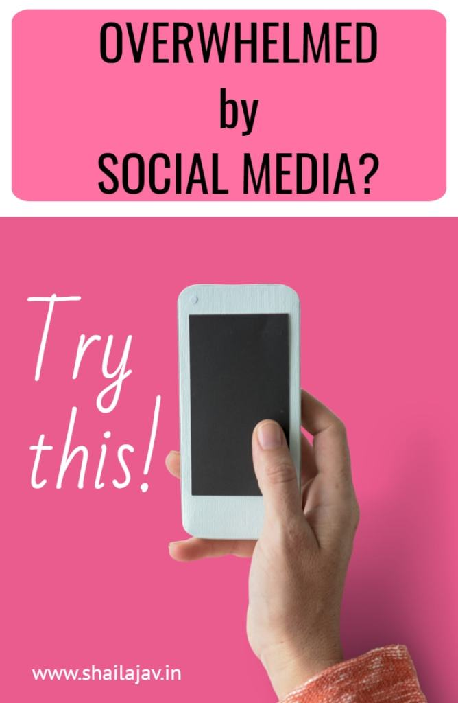 Do you feel overwhelmed by Social media? Use these tips to intentionally manage social media, detox and manage your connections as a tool. Be mindful and intentional. Find out how. #SocialMediaTips #SocialMediaDetox