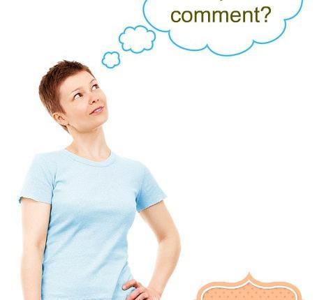 Should I comment? #MicroblogMondays