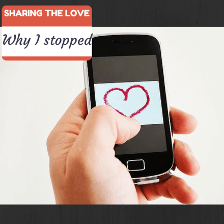 Why I stopped sharing the love, Twitter, Social Media