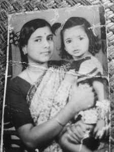 Faded photographs, Memories, Mom and me