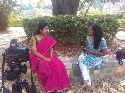 Shailaja white swan interview