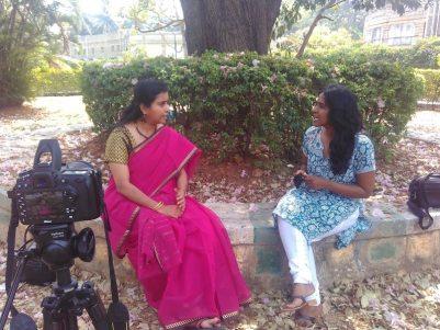 Shailaja white swan interview