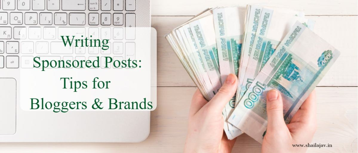 Sponsored Posts: What bloggers & brands should know