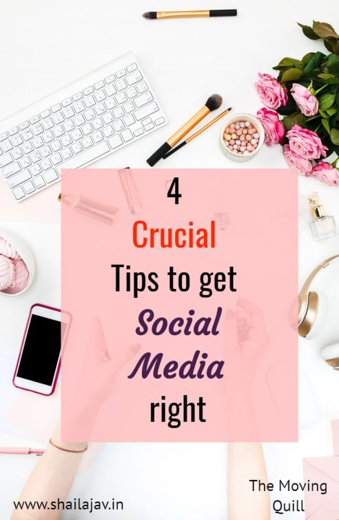 New to social media and the world of blogging? My 4 crucial social media tips for bloggers will help you build an engaged audience and establish you as a brand.
