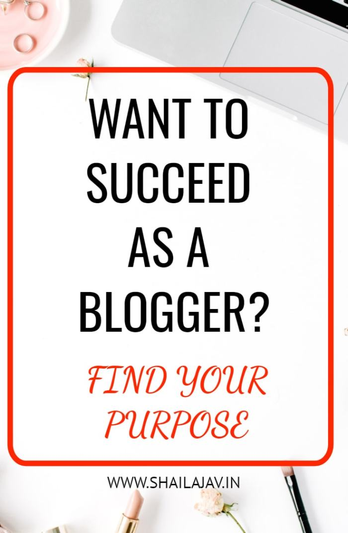Blogging is a wonderful thing that brings joy to many people. But what is the secret to successful blogging? One of the most important things is that you must find your purpose. How do you do that? Here's what I did. #Blogging #BloggingTips #Bloggers #SuccessfulBloggers