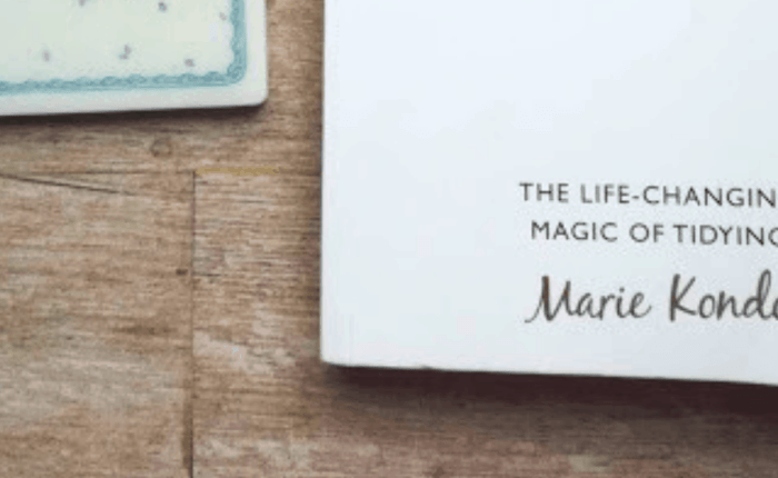 Marie Kondo, Tidying Up and Sparking Joy