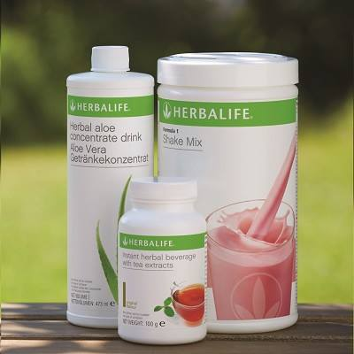 A Herbalife HEALTHY Breakfast.