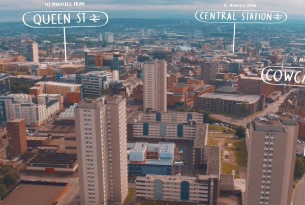 Glasgow Canal Project - Central Cowcaddens Queen St Video