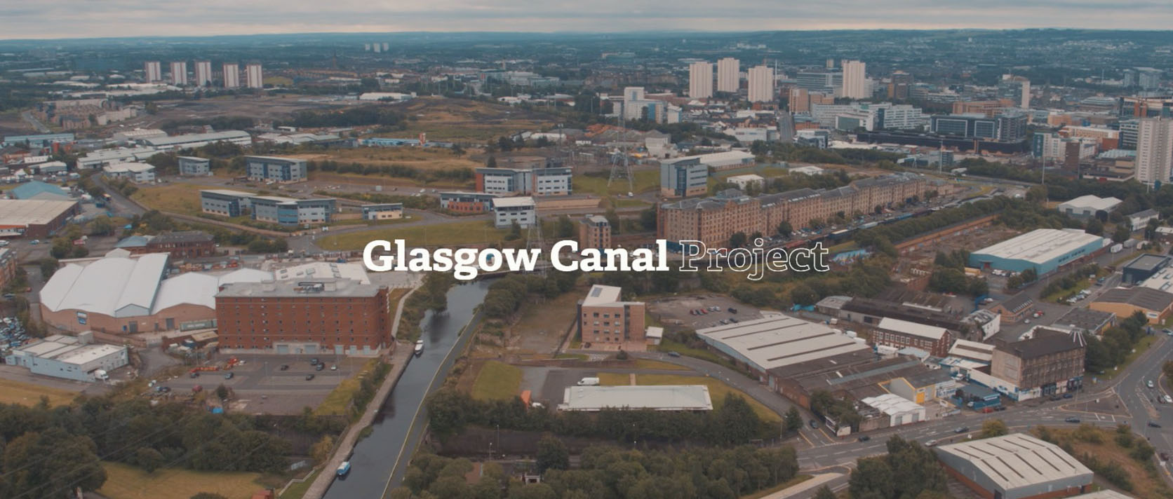 Glasgow Canal Project - Area Video