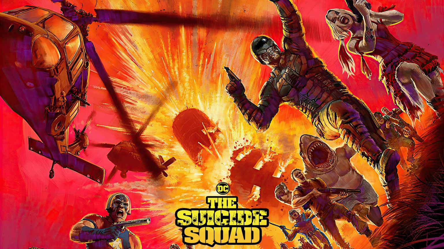 Everything We Know About James Gunn's The Suicide Squad (2021) - Shaken, Not Stirred