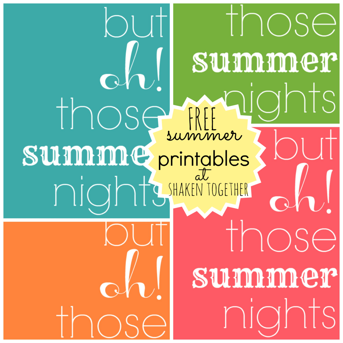 Free Summer Printables Amp A New Printer From Staples