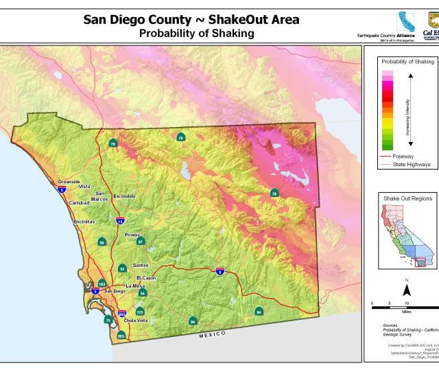 Sango County Earthquake Shaking Potential