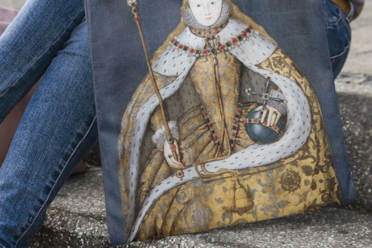 Elizabeth I Coronation Tote Bag