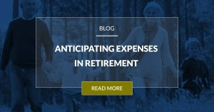 Anticipating Expenses In Retirement