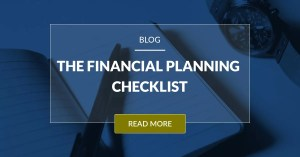 The Financial Planning Checklist