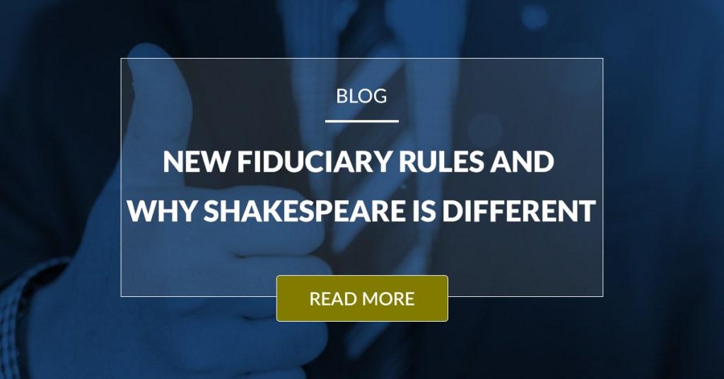 New Fiduciary Rule