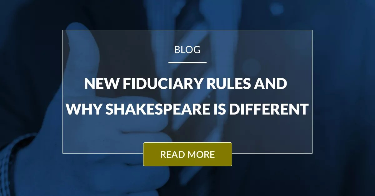 New Fiduciary Rule