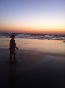 Sunrise, first day of the week, Atlantic Ocean, Florida coast, rejoicing in the Lord.