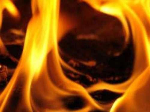 В поселке Петровка горел частный дом