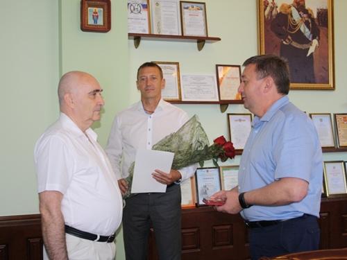 Сергея Алексеевича Новикова поздравили с юбилеем
