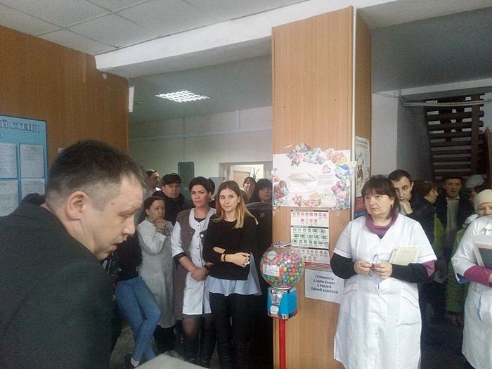 В Шахтах под угрозой закрытия очередная поликлиника ВИДЕО