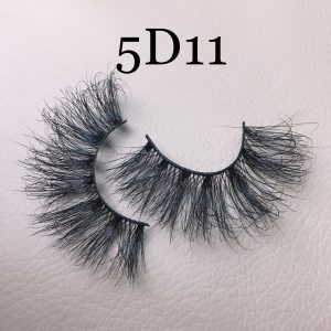 Fluffy 25mm mink lashes 5D11