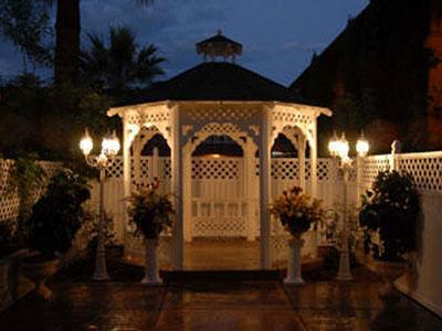 Outdoor Gazebo Weddings Shalimar Wedding Chapel