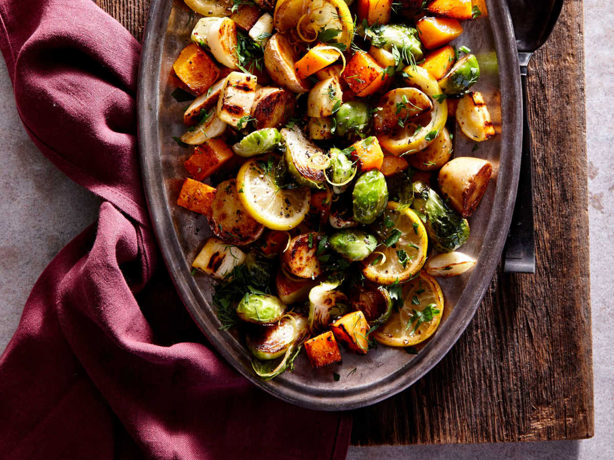 healthy thanksgiving side dishes and recipes