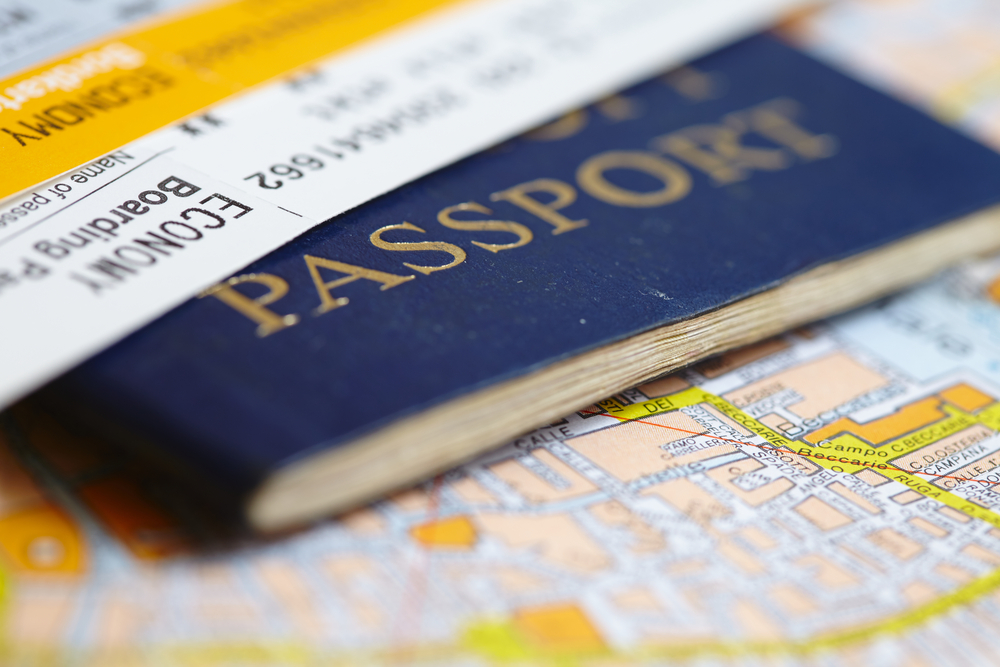 scan your passport id and send to your mail - top travel hacks