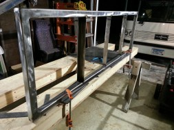 Bench Frame Reinforce Seat