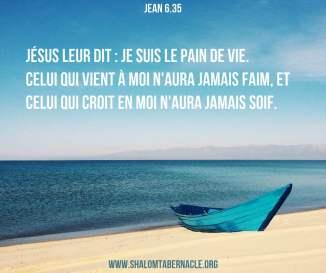 Jean 6.35 - La Sainte Bible