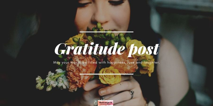 GRATITUDE- SECRET INGREDIENT - MINDFULNESS- JUNE