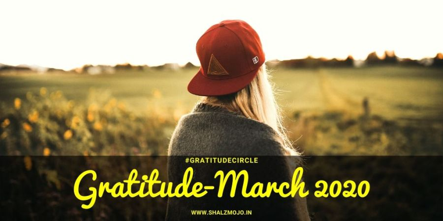 Gratitude - rise- March 2020 - tough times - virus outbreak- lockdown
